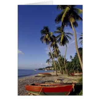 Les CARAÏBE, Grenada, St George, bateaux sur la Carte