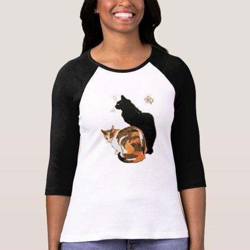 Les chats par Théophile Alexandre Steinlen T-shirts