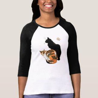 Les chats par Theophile Alexandre Steinlen Tshirts