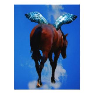 Les chevaux ont des anges prospectus 21,6 cm x 24,94 cm