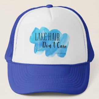 Les cheveux de lac ne s'inquiètent pas casquette