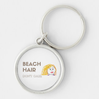 Les cheveux de plage, ne s'inquiètent pas le porte porte-clés