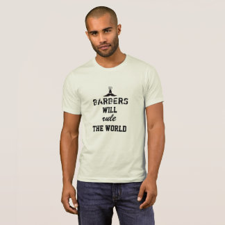 Les coiffeurs ordonneront le T-shirt du monde