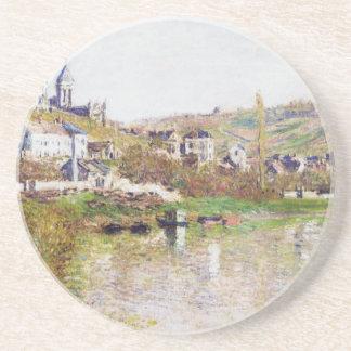 Les collines de Vetheuil par Claude Monet Dessous De Verre