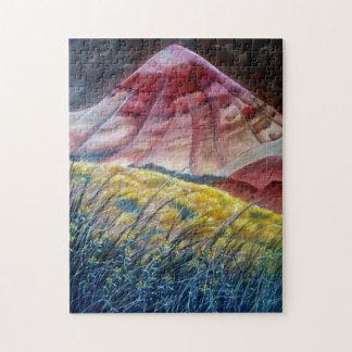 Les collines peintes 1 puzzle