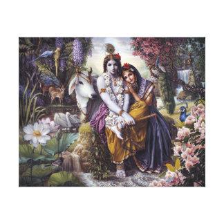 Les couples affectueux divins toiles