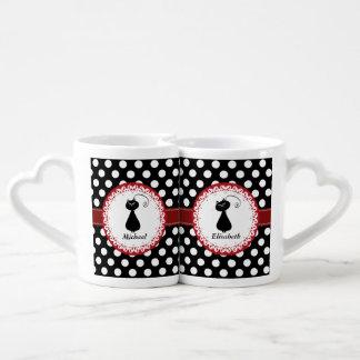 Les couples lunatiques drôles à la mode d'amour de mug