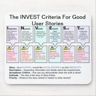 Les critères d'INVESTISSEMENT pour de bonnes Tapis De Souris