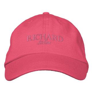 Les dames de salon de Richard ont brodé le casquet Casquettes De Baseball Brodées