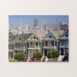 Les dames peintes célèbres de San Francisco Puzzle