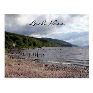 les eaux de Loch Ness Carte Postale
