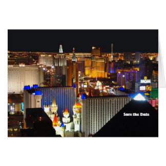 Les économies de Las Vegas la carte de date, ajout