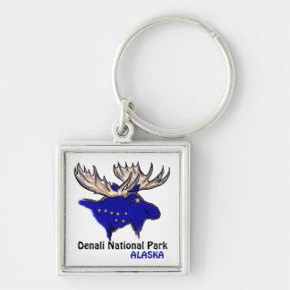 Les élans bleus de l'Alaska de parc national de Porte-clés