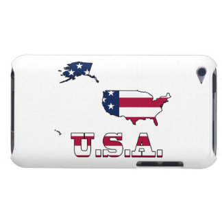 Les Etats-Unis diminuent dans la carte Coques iPod Case-Mate
