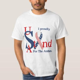Les Etats-Unis I représentent fièrement le T-shirt