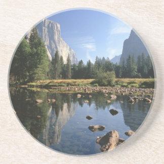 Les Etats-Unis, la Californie, parc national de Dessous De Verre En Grès