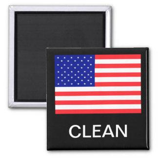 Les Etats-Unis marquent l'aimant sale propre de la Magnet Carré