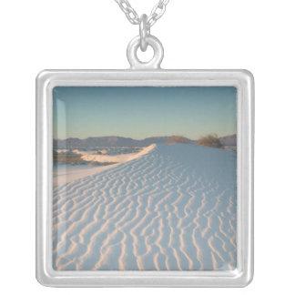 Les Etats-Unis, Nouveau Mexique, sables blancs Collier