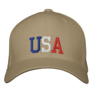 Les Etats-Unis ont brodé le casquette Casquette Brodée