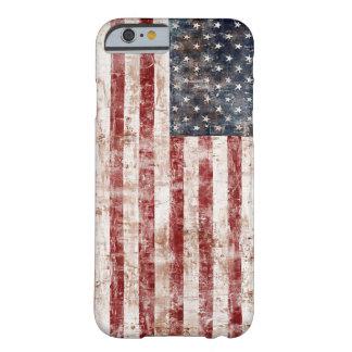 Les Etats-Unis rustiques diminuent Coque iPhone 6 Barely There