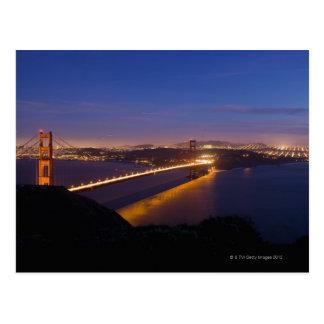 Les Etats-Unis, San Francisco, horizon de ville Carte Postale