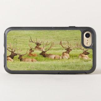 Les Etats-Unis, Utah, groupe d'élans de taureau Coque OtterBox Symmetry iPhone 8/7