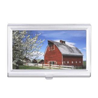 Les Etats-Unis, Washington, Ellensburg, grange Boîtier Pour Cartes De Visite