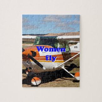 Les femmes volent : avions à haute voilure puzzle