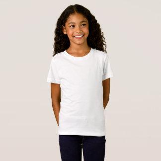 Les filles affinent le T-shirt du Jersey