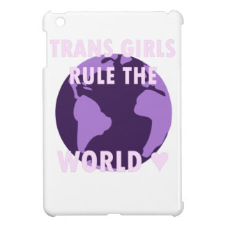 Les filles de transport ordonnent le monde (v1) coques pour iPad mini