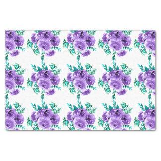 Les fleurs de lavande conçoivent le motif sans papier mousseline