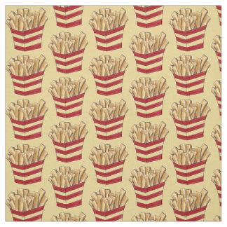 Les fritures de pommes frites ont fait frire le tissu
