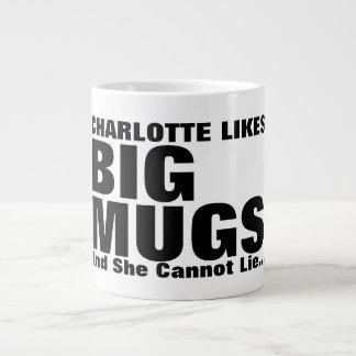 Les grands tasses et moi personnalisés de goûts ne