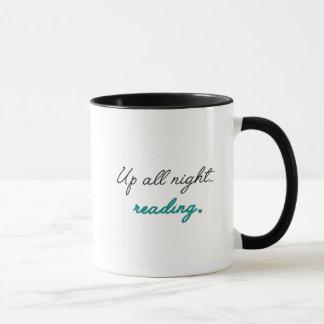 Les hiboux de livre mug