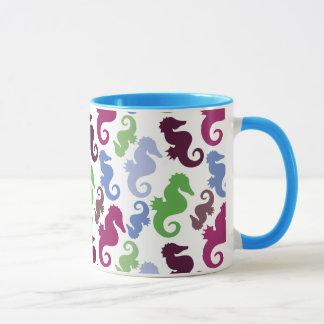 Les hippocampes modèlent les cadeaux nautiques de mug