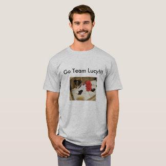 Les hommes vont T-shirt de Lucy d'ÉQUIPE