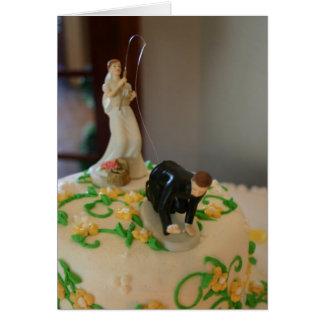 Les idées drôles de cadeau de cartes de mariage