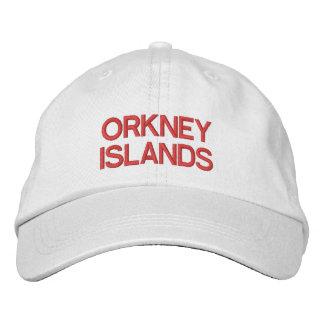 Les Îles d'Orkney ont personnalisé le casquette