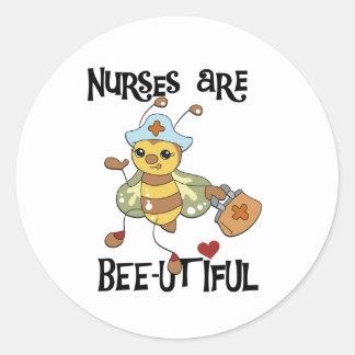 Les infirmières sont de beaux autocollants
