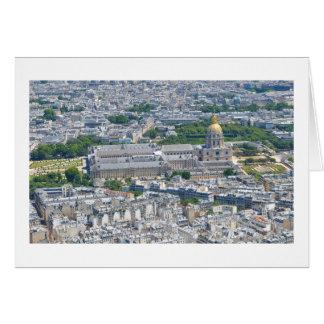 Les Invalides à Paris, France Carte