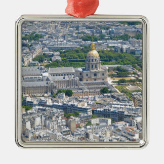 Les Invalides à Paris, France Ornement Carré Argenté