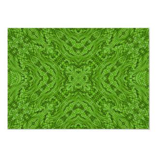 Les invitations vertes allantes, enveloppes ont