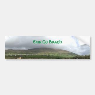 Les Irlandais Erin vont adhésif pour pare-chocs de Autocollant De Voiture
