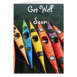 Les kayaks attendent !  Obtenez la carte bonne