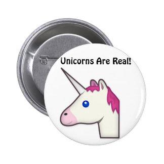 Les licornes sont vrai bouton ! badge rond 5 cm
