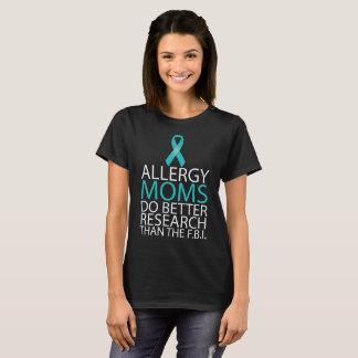 Les mamans d'allergie améliorent le T-shirt de