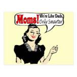 Les mamans sont un T-shirts et des cadeaux plus Carte Postale