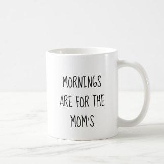 Les matins sont pour la tasse de la maman