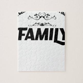 les meilleures choses dans la vie est famille puzzle