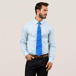 Les mers bleues ont barré la cravate classique